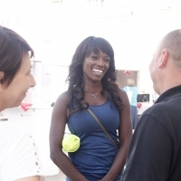 English television cook Lorraine Pascale visited 23. Sarajevo Film festival, Festival Eating Point, 23. Sarajevo Film Festival, 2017 (C) Obala Art Centar