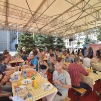 Press Lunch, Festival Square, 23. Sarajevo Film Festival, 2017 (C) Obala Art Centar