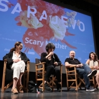Cast and crew of SCARY MOTHER, Competition Programme Press Conference, Competition Programe - Feature Film, National Theatre, 23. Sarajevo Film Festival, 2017 (C) Obala Art Centar