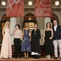 Cast and Crew of SCARY MOTHER, Competition Programme – Feature Film, Competition Programme, Red Carpet, 23. Sarajevo Film Festival, 2017 (C) Obala Art Centar