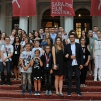 Membrs of Youth Jury, Red Carpet, 23. Sarajevo Film Festival, 2017 (C) Obala Art Centar