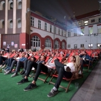 Screening of ON THE ROAD, Summer Screen, Sarajevsko Summer Screen, 23. Sarajevo Film Festival, 2017 (C) Obala Art Centar