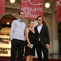 Samo Seničar, Greta Akcionaitė and Jan Makosch, CICAE Jury Members, Red Carpet, 23. Sarajevo Film Festival, 2017 (C) Obala Art Centar