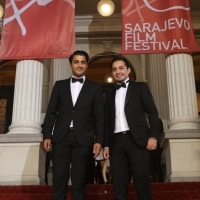 Actors Simon Al-Bazoon and Sherwan Haji, THE OTHER SIDE OF HOPE, Red Carpet, National theatre, 23rd Sarajevo Film Festival, 2017 (C) Obala Art Centar