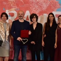 SCARY MOTHER, HEART OF SARAJEVO FOR BEST FEATURE FILM, Competition Programme - Feature Film, Photo Call, Sarajevo Film Festival Awards Ceremony, Festival Square, 23. Sarajevo Film Festival, 2017 (C) Obala Art Centar
