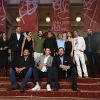Cast and crew of BLACK SUN, Avant Premiere, Red Carpet, National Theatre, 23. Sarajevo Film Festival, 2017 (C) Obala Art Centar