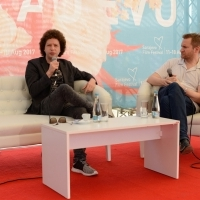 Coffee with... Director Michel Franco, APRIL'S DAUGHTER, Open Air Programme, Festival Square, 23. Sarajevo Film Festival, 2017 (C) Obala Art Centar