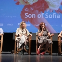 Cast and crew of the film SON OF SOFIA, Competition Programme Press Conference, Competition Programe - Feature Film, National Theatre, 23. Sarajevo Film Festival, 2017 (C) Obala Art Centar