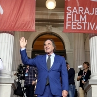 Oliver Stone, Recipient of the Honorary Heart of Sarajevo, Red Carpet, National Theatre, 23. Sarajevo Film Festival, 2017 (C) Obala Art Centar