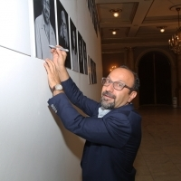 Asghar Farhadi, President of the Jury, Competition Programme - Feature Film, Photo Call, National Theatre, 24th Sarajevo Film Festival, 2018 (C) Obala Art Centar