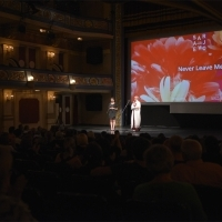 In Focus Programme moderator Nataša Govedarica and Aida Begić, National Theatre, 24th Sarajevo Film Festival, 2018 (C) Obala Art Centar