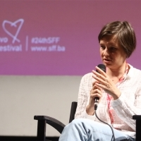 Director Zsófia Szilágyi, Competition Programme Press Conference: One Day, National Theatre, 24th Sarajevo Film Festival, 2018 (C) Obala Art Centar