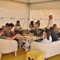 Press Brunch, Festival Square, 24th Sarajevo Film Festival, 2018 (C) Obala Art Centar