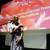 Moderator Bianca Lucas, Sarajevo Film Festival Partner Presents: Doha Film Institute, Cinema City, 24th Sarajevo Film Festival, 2018 (C) Obala Art Centar