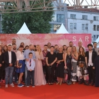 Good Day's Work crew, Festival Square, 24th Sarajevo Film Festival, 2018 (C) Obala Art Centar