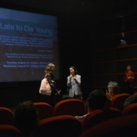 Q&A session, Too Late to Die Young, Kinoscope, Meeting Point, 24th Sarajevo Film Festival, 2018 (C) Obala Art Centar