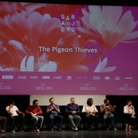 Competition Programme Press Conference: The Pigeon Thieves, National Theatre, 24th Sarajevo Film Festival, 2018 (C) Obala Art Centar