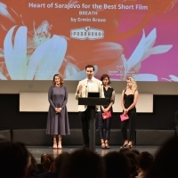 Ermin Bravo, Breath, Heart of Sarajevo for the Best Short Film, National Theatre, 24th Sarajevo Film Festival, 2018 (C) Obala Art Centar