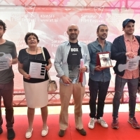 Winners of Partner's Awards, Festival Square, 24th Sarajevo Film Festival, 2018 (C) Obala Art Centar