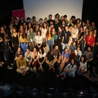 Group Photo, Talents Sarajevo Closing Session, ASU Open Stage, 24th Sarajevo Film Festival, 2018 (C) Obala Art Centar