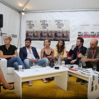 Press junket, Avant Premiere: Morning Changes Everything, Telemach Lounge, Festival Square, 24th Sarajevo Film Festival, 2018 (C) Obala Art Centar