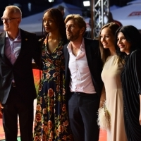 Jury of the Competition Programme - Feature Film: Bero Beyer, Funa Maduka, Ruben Östlund (Jury President), Jovana Stojiljković and Teona Strugar Mitevska, Red Carpet, 25th Sarajevo Film Festival, 2019 (C) Obala Art Centar