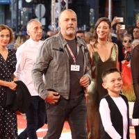 Actress Alma Prica, actors Admir Glamočak and Nikola Kojo, actresses Jadranka Đokić and Vedrana Božinović, Red Carpet, 25th Sarajevo Film Festival, 2019 (C) Obala Art Centar