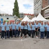 Official drivers of the 25th Sarajevo Film Festival, Festival Square, 25th Sarajevo Film Festival, 2019 (C) Obala Art Centar