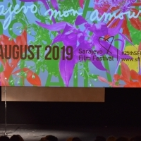 Igor Skvarica, Official Host of this year's Sarajevo Film Festival Opening Ceremony, National Theatre, 25th Sarajevo Film Festival, 2019 (C) Obala Art Centar