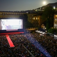 Screening of The Son, Competition Programme - Feature Film, Raiffeisen Open Air Cinema, 25th Sarajevo Film Festival, 2019 (C) Obala Art Centar