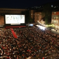 Screening of Pain and Glory, Raiffeisen Open Air Cinema, 25th Sarajevo Film Festival, 2019 (C) Obala Art Centar
