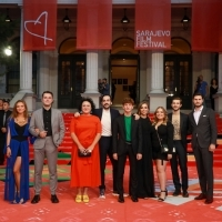 Crew of And Than We Danced, Competition Programme - Feature Film, Red Carpet, 25th Sarajevo Film Festival, 2019 (C) Obala Art Centar