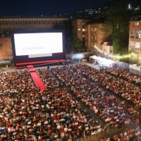 Screening of Parasite, Raiffeisen Open Air Cinema, 25th Sarajevo Film Festival, 2019 (C) Obala Art Centar