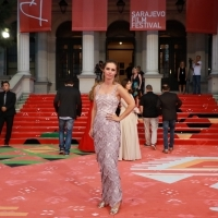 Actress Leona Paraminski, Red Carpet, 25th Sarajevo Film Festival, 2019 (C) Obala Art Centar