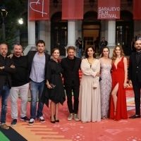 Crew of Black Sun 2, Red Carpet, 25th Sarajevo Film Festival, 2019 (C) Obala Art Centar