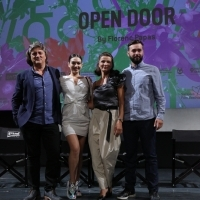 Crew of Open Door, Competition Programme Press Conference, National Theatre, 25th Sarajevo Film Festival, 2019 (C) Obala Art Centar