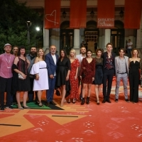 Crew of Take Me Somewhere Nice, Red Carpet, 25th Sarajevo Film Festival, 2019 (C) Obala Art Centar