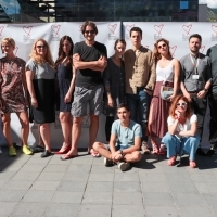 Crew of The Group, Photo Call, TRT Industry Terace, Hotel Europe, 25th Sarajevo Film Festival, 2019 (C) Obala Art Centar