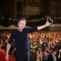 Tim Roth, Recipient of Honorary Heart of Sarajevo, Raiffeisen Open Air Cinema, 25th Sarajevo Film Festival, 2019 (C) Obala Art Centar