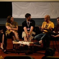 Panel: Starting Your Own Company and the Future of Short Film Distribution, House of Shorts, 25th Sarajevo Film Festival, 2019 (C) Obala Art Centar