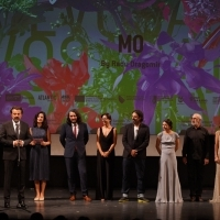 Crew of Mo with actress Zana Marjanović, Competition Programme - Feature Film, National Theatre, 25th Sarajevo Film Festival, 2019 (C) Obala Art Centar