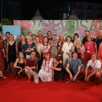 Docu Rough Cut Boutique Award Ceremony, Festival Square, 25th Sarajevo Film Festival, 2019 (C) Obala Art Centar