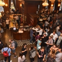 Industry Drink hosted by Film Center Serbia, Hotel Europe - Cafe, 25th Sarajevo Film Festival, 2019 (C) Obala Art Centar