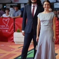 Editor Tudor Popescu and actress Madalina Craiu, Red Carpet, 25th Sarajevo Film Festival, 2019 (C) Obala Art Centar