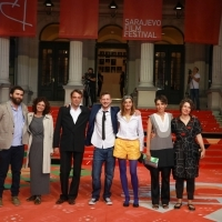 Crew of Cat in the Wall, Red Carpet, 25th Sarajevo Film Festival, 2019 (C) Obala Art Centar