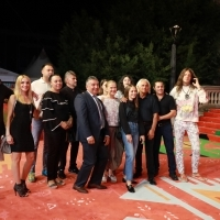 Crew of Ivana the Terrible, Red Carpet, 25th Sarajevo Film Festival, 2019 (C) Obala Art Centar