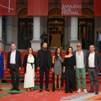 Crew of The Lake, Red Carpet, 25th Sarajevo Film Festival, 2019 (C) Obala Art Centar