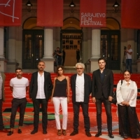 Crew of It Must be Heaven with Jovan Marjanović, Red Carpet, 25th Sarajevo Film Festival, 2019 (C) Obala Art Centar