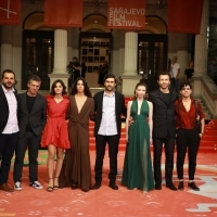 Crew of A Tale of Three Sisters, Red Carpet, 25th Sarajevo Film Festival, 2019 (C) Obala Art Centar