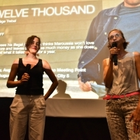 Director Nadege Trebal and Kinoscope programmer Mathilde Henrot, Screening of Twelve Thousand, Meeting Point Cinema, 25th Sarajevo Film Festival, 2019 (C) Obala Art Centar